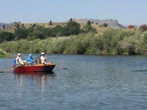 Missouri River Drift Boat